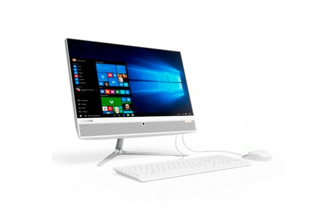 "PC All in One LENOVO 510 A9 21.5"" Blanco"