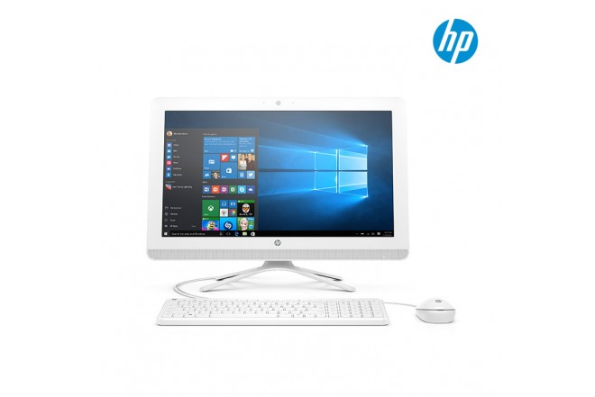"""PC All in One HP 20-C001 19.5"""" Celeron® Blanco"""