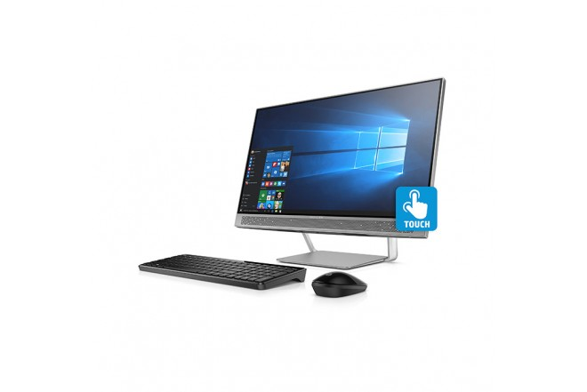 "PC All in One HP 24-B007 23.8"" A9 Negro"