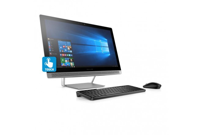 "PC All in One HP 24-B104 A12 23.8"" Plata"