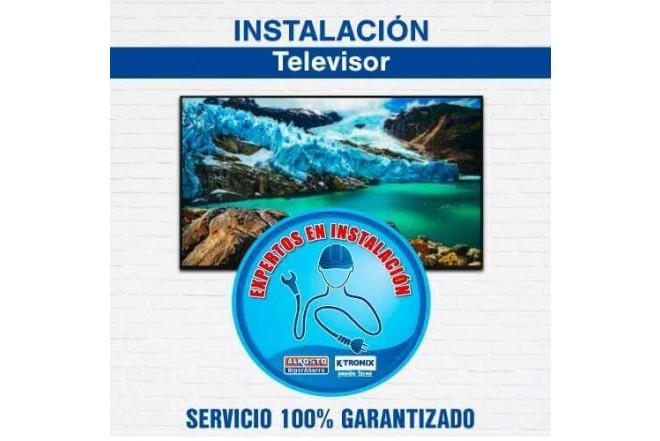 """Instalación TV 51"""" a 60"""" Incluye Base de Brazo Air"""