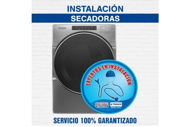 Servicio de Instalación Secadora + Lavadora Punto Cero
