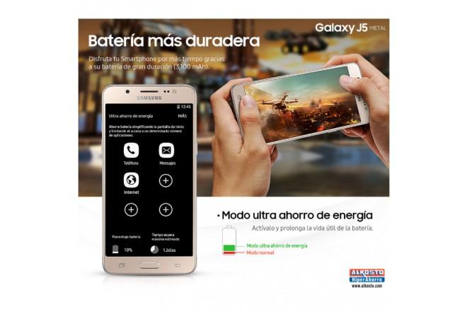 Celular SAMSUNG Galaxy J5 Metal DS 4G Negro