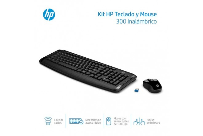 """Combo  HP Inal Tecl+Mouse 300""""_4"""