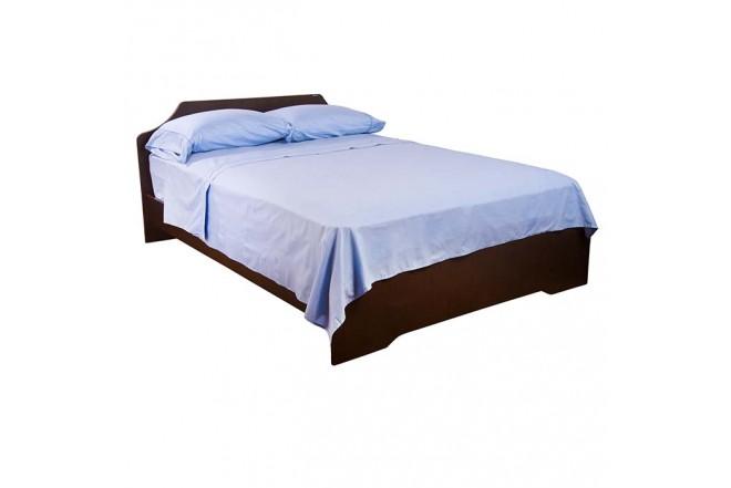 Juego de cama K-LINE Sencillo Sesgo Azul 144 hilos