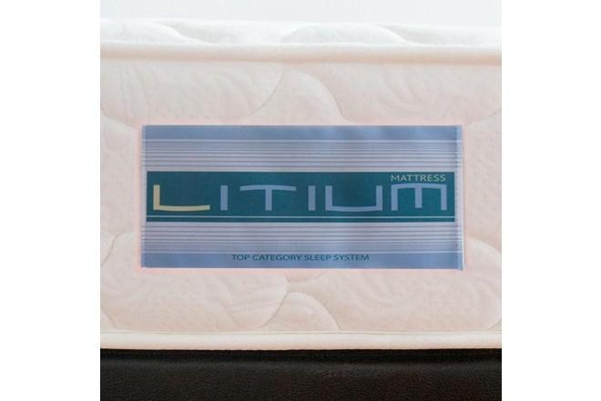 Colchón Espumado Doble FANTASÍA Litium 140 x 190 cm
