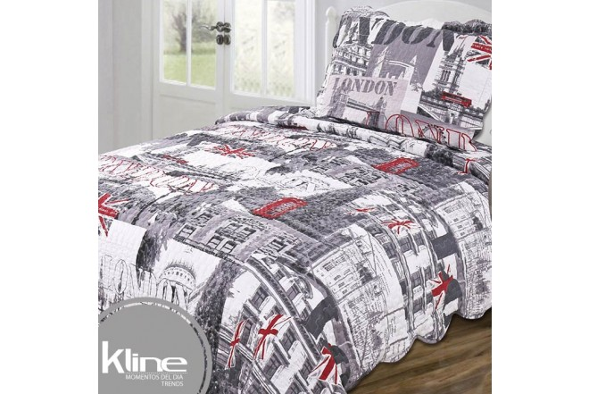 Cubrecama K-LINE Semidoble London