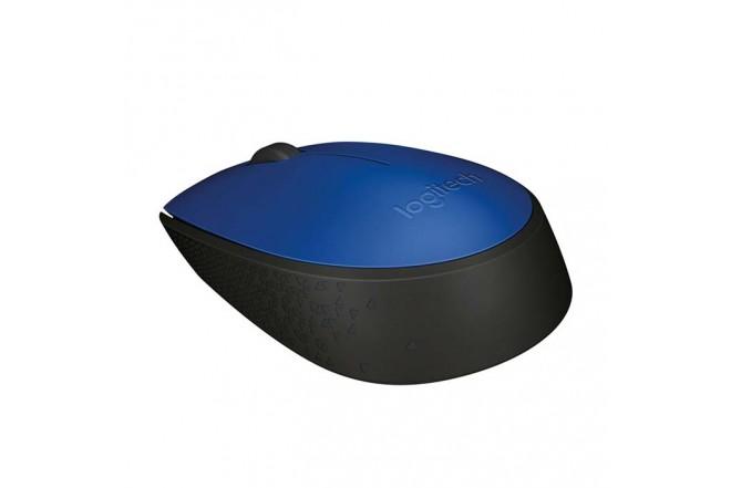 Mouse LOGITECH Inalambrico Optico M170 Azul