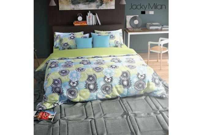 Comforter Extradoble JACKY MILAN LUCILA 180 Hilos