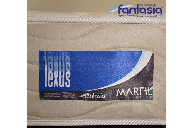 Colchón FANTASÍA Semidoble Marfil Lexus 120x190 cms