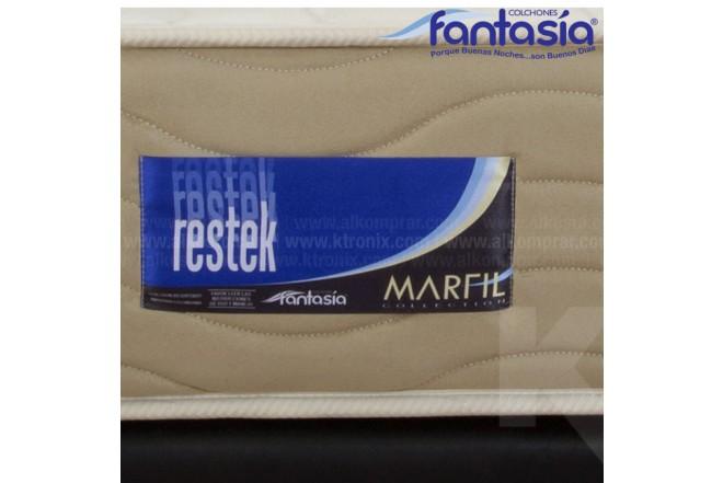 Colchón FANTASÍA Sencillo Marfil Restek 100x190 cms