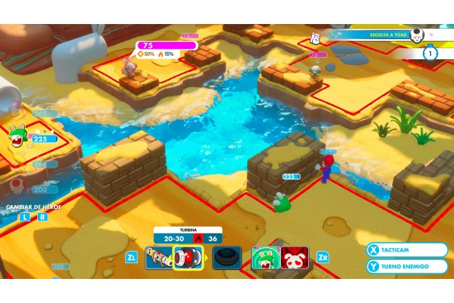 Videojuego SWITCH Mario + Rabbids: Kingdom Battle-2