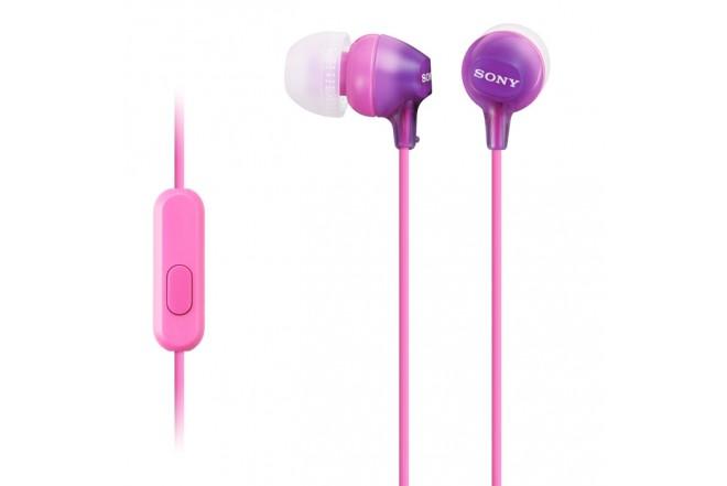 Audífonos SONY InEar ML EX15AP Violeta