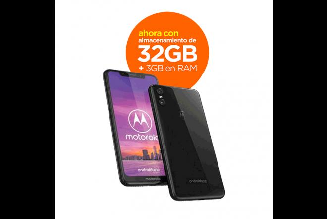 717b698989c Celular MOTOROLA One 32GB DS Negro Alkosto Tienda Online