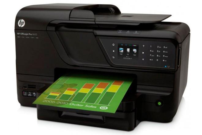 Multifuncional HP 8600