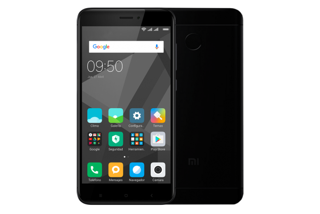 Celular Libre XIAOMI REDMI 4X 4G Negro