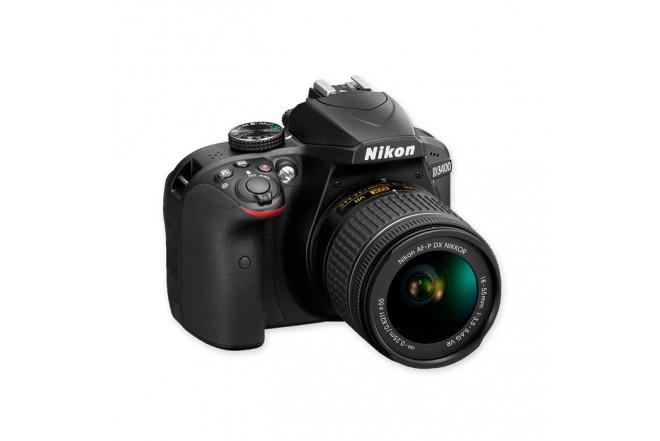 Cámara Profesional NIKON D3400 + Maletin + 8GB Negra