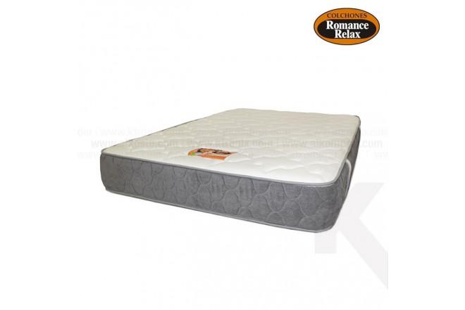 Colchon ROMANCE RELAX Opalo semidoble 120x190x25 cms