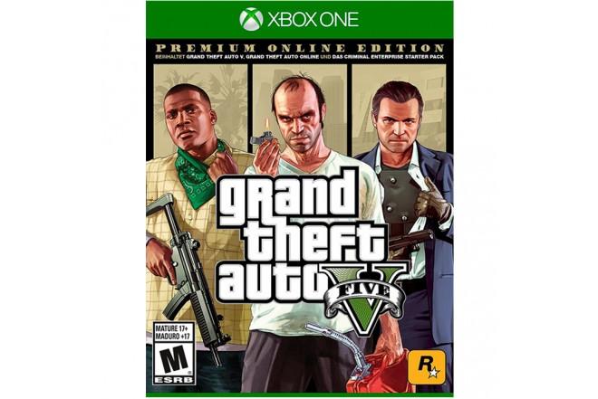 Juego Xbox One Grand Theft Auto V PE 6