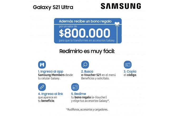 Celular SAMSUNG Galaxy S21 Ultra 256GB Plateado-12
