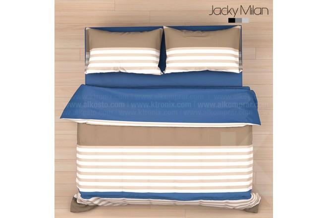 Comforter Extradoble JACKY MILAN PETER AZUL 180 Hilos