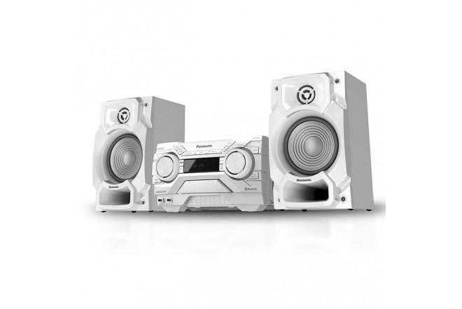Equipo Mini PANASONIC AKX300 450W - Blanco