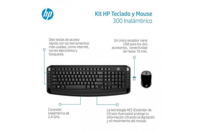 """Combo  HP Inal Tecl+Mouse 300""""_2"""