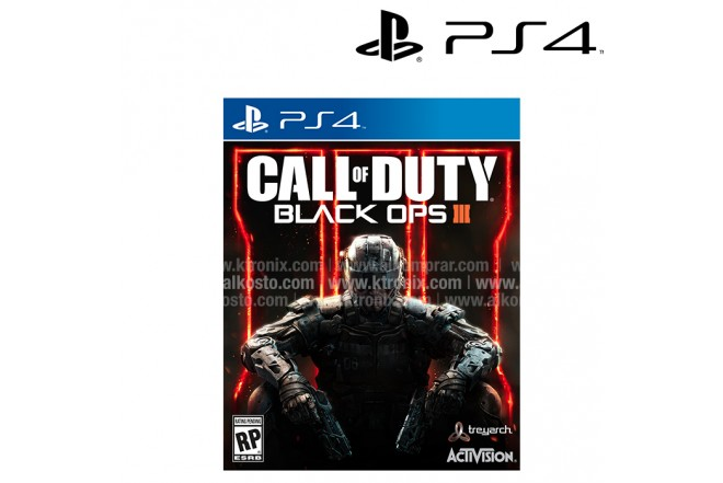 Videojuego PS4 Call of Duty Blacks Ops III