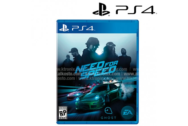 Videojuego PS4 Need For Speed