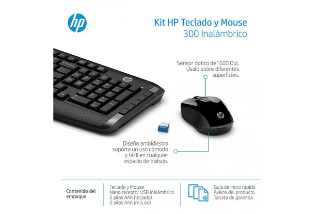 """Combo  HP Inal Tecl+Mouse 300""""_5"""