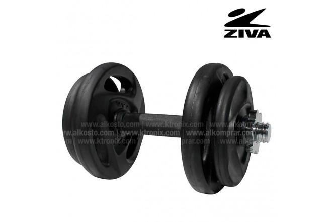 Estudio de discos 20kg ZIVA Negro