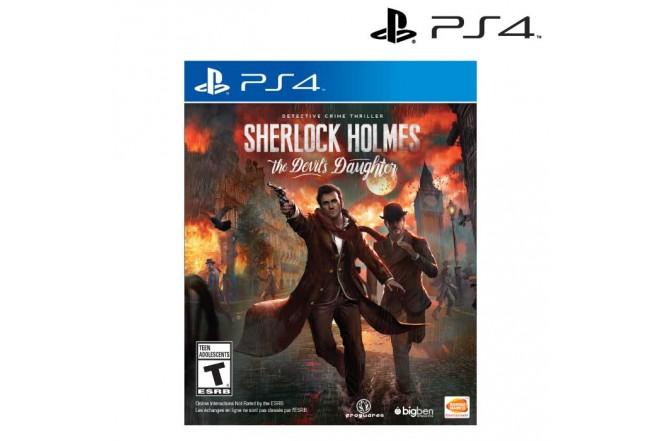 Videojuego PS4 Sherlock Holmes Devil