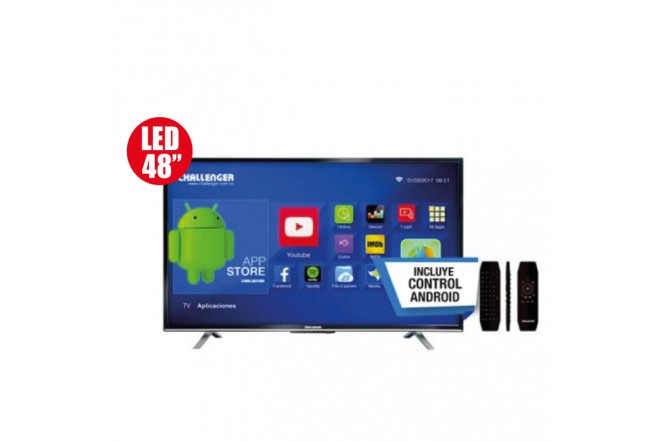 "Tv 48"" CHALLENGER T18 Android Smart"