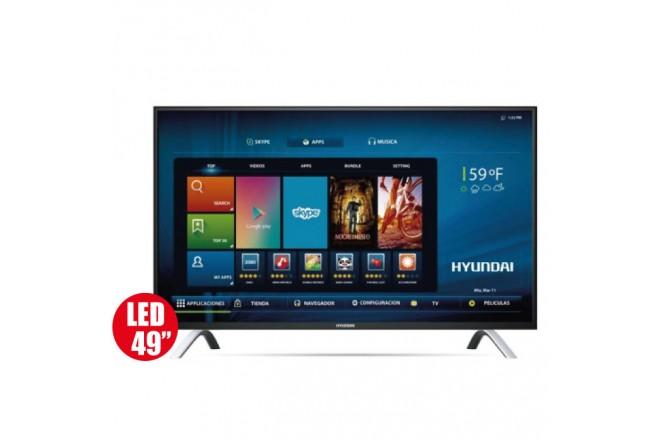 "Tv 49"" 124cm HYUNDAI 498 Ultra HD - Internet"