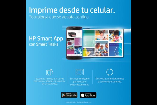 Impresora Multifuncional HP DeskJet Ink 3775 Azul11