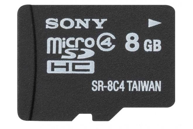 Memoria MicroSD SONY HC 8GB + Adaptador