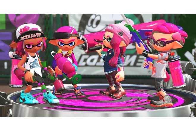 Videojuego SWITCH Splatoon 2-4