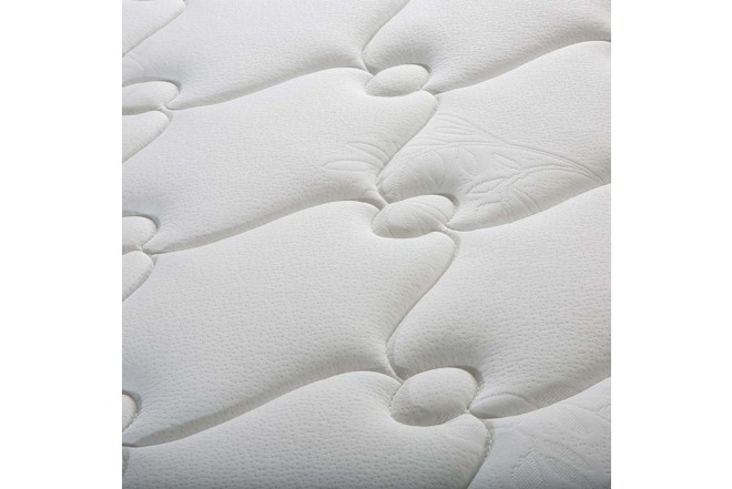 KOMBO ELDORADO: Colchón Resortado Semidoble Tahoma 120 x 190 cm + Base Cama Nova Negra