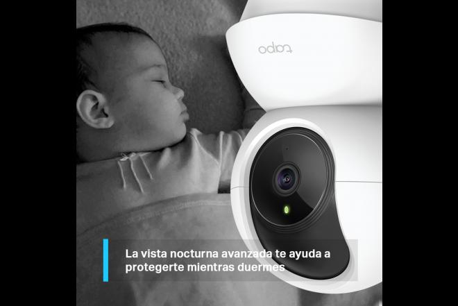 Cámara de Seguridad Panorámica Interior Dia/Noche Tapo C200 1080p3