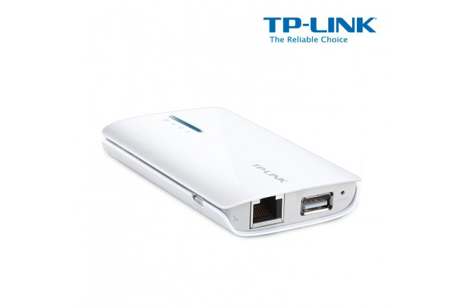 Router TP-LINK 3G/Repet WiFi 150Mbps