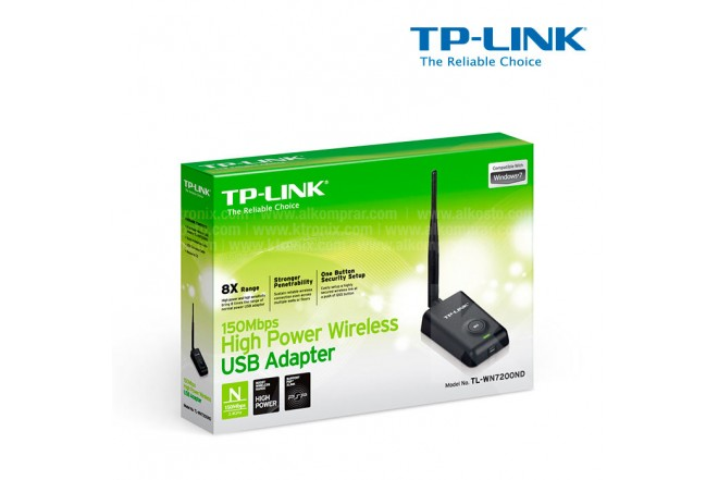 Adaptador TP-LINK H. Power N150