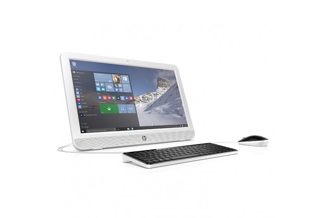 "PC All in One HP 20-E110 19.45"" Celeron® Blanco"