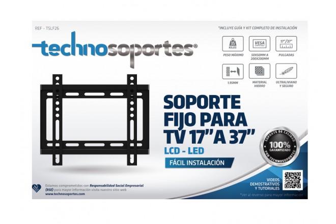 "Base Fija TECHNOSOPORTES, LCD/LED/Plasma 26""a 37"" (Accesorios)"