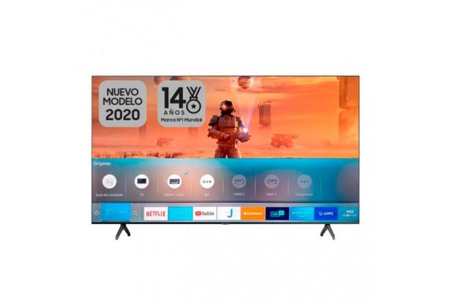 "TV SAMSUNG 58"" Pulgadas 147 cm 58TU7000 LED 4K-UHD Plano Smart TV 1"