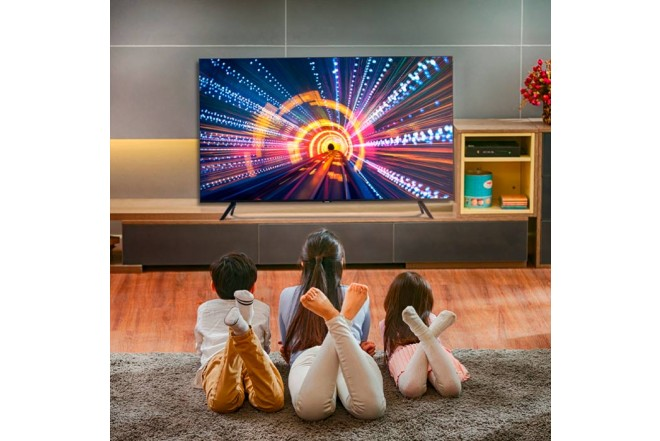"TV SAMSUNG 65"" Pulgadas 165cm 65TU7000 LED 4K-UHD Plano Smart TV 4"