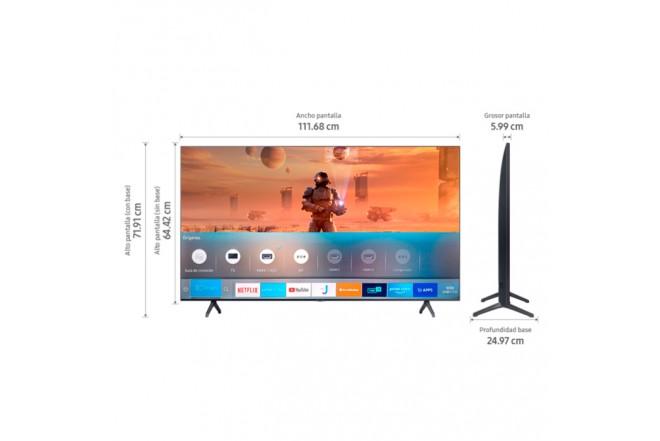 "TV SAMSUNG 50"" Pulgadas 127 cm 50TU7000 LED 4K-UHD Plano Smart TV 5"