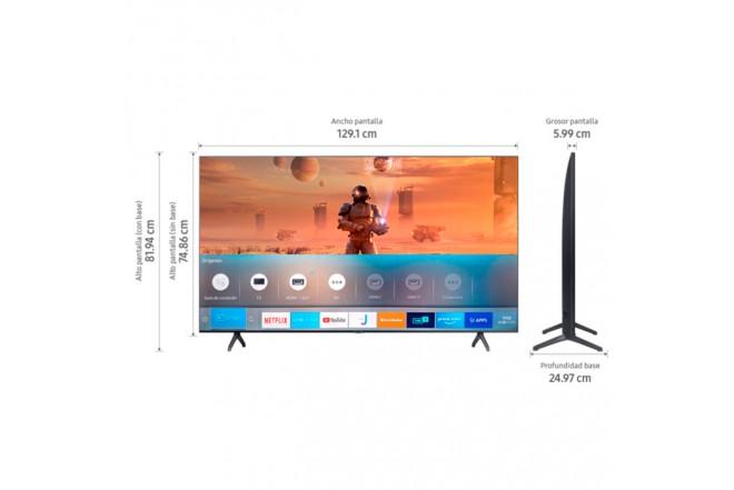 "TV SAMSUNG 58"" Pulgadas 147 cm 58TU7000 LED 4K-UHD Plano Smart TV 5"