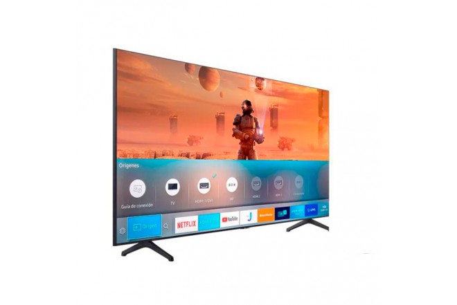"TV SAMSUNG 70"" Pulgadas 177 cm 70TU7000 LED 4K-UHD Plano Smart TV 6"