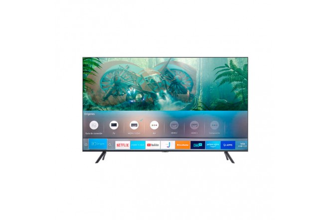 "TV SAMSUNG 65"" Pulgadas 165 Cm 65TU8000 LED 4K-UHD Plano Smart TV2"