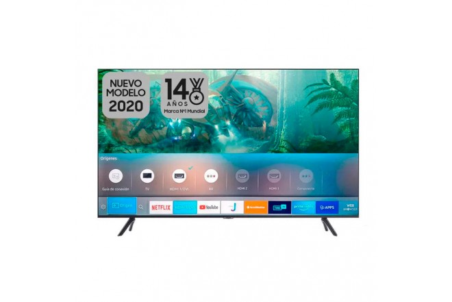 "TV SAMSUNG 55"" Pulgadas 139 Cm 55TU8000 LED 4K-UHD Plano Smart TV 1"